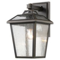 Filament Design Bayla Small Wall-Mount Outdoor Lantern in Oil Rubbed Bronze