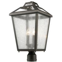 Filament Design Bayla Post-Mount Large Outdoor Light in Oil Rubbed Bronze