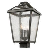 Filament Design Bayla Post-Mount Medium Outdoor Light in Oil Rubbed Bronze