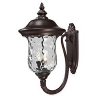 Filament Design Large Outdoor Wall Sconce in Bronze