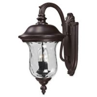 Filament Design Medium Outdoor Wall Sconce in Bronze
