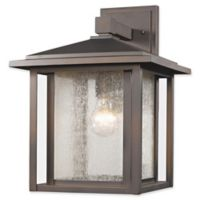Filament Design Diana 1-Light Outdoor Wall Fixture in Oil Rubbed Bronze