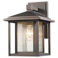 Filament Design Diana 1-Light Outdoor Wall Sconce in Oil Rubbed Bronze