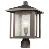 Filament Design Diana 1-Light Outdoor Post Lamp in Oil Rubbed Bronze