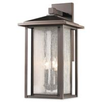 Filament Design Diana 3-Light Outdoor Wall Sconce in Oil Rubbed Bronze