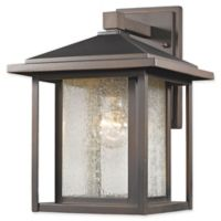 Filament Design Diana 1-Light Outdoor Wall Lantern in Oil Rubbed Bronze