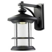 Filament Design Gia Wall-Mount Outdoor Light in Black