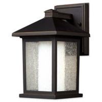 Filament Design Miahadfas 1-Light Wall Mount Outdoor Wall Lantern in Oil Rubbed Bronze