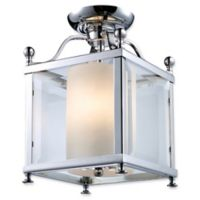 Filament Design Lena 3-Light Ceiling Fixture in Chrome