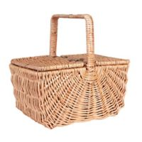 Household Essentials® Dorothy Market Picnic Basket with Fixed Handle