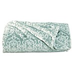 Great Bay Home Kingston Ultra Plush Throw Blanket in Blue