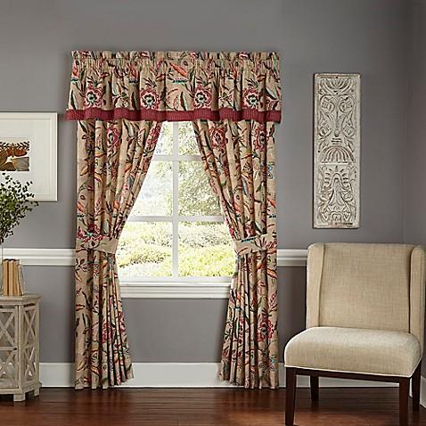 Waverly 174 Key Of Life Window Curtain Panels And Valance