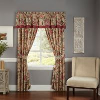 Waverly® Key of Life Window Valance in Red