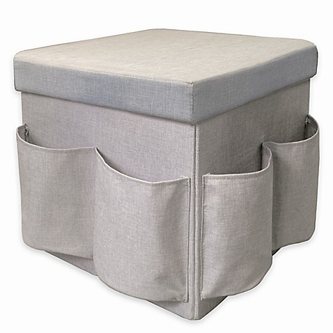 Superbe Market Village Shoe Storage Cube In Grey