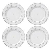"kate spade new york Larabee Road™ Platinum Monogram Letter ""E"" Tidbit Plates (Set of 4)"