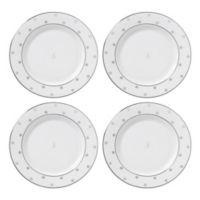"kate spade new york Larabee Road™ Platinum Monogram Letter ""S"" Tidbit Plates (Set of 4)"