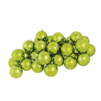Northlight 4-Inch Ball Christmas Ornaments in Kiwi Green (Set of 12)