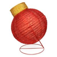 Northlight 36-Inch Ball Christmas Ornament Yard Decoration in Red