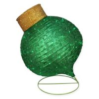 Northlight 36-Inch Ball Christmas Ornament Yard Decoration in Green