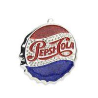 Northlight Classic Pepsi-Cola Bottle Cap Logo Christmas Ornament
