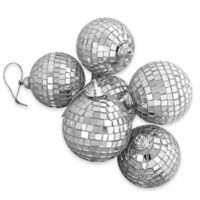 Northlight 3.25-Inch Glass Christmas Ball Ornaments in Silver Splendor (Set of 6)
