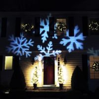 Northlight® LED Snowflake Light Projector with Remote Control
