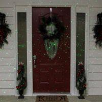 Northlight 13.25-Inch Outdoor Christmas Light Projector