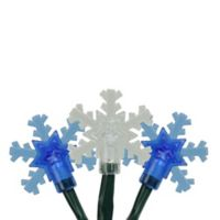 Product Works 10-Light Snowflake Christmas String Light