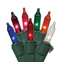 Vickerman 34-Foot Multicolor Incandescent Mini Lights