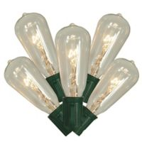 Sienna 10-Feet 10-Light Edison-Style String Lights in Clear