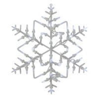 Northlight 18-Inch LED Lighted Window Snowflake Silhouette