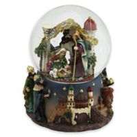 Northlight 5-Inch Nativity Scene Musical Snow Globe