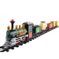 Northlight 18-Piece Battery-Operated Express Train Set in Red