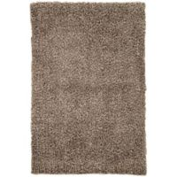 Jaipur Flux 2-Foot x 3-Foot Shag Accent Rug in Brown