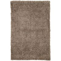 Jaipur Flux 7-Foot 6-Inch x 9-Foot 6-Inch Shag Area Rug in Brown