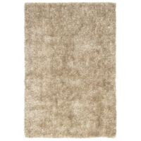 Jaipur Flux 2-Foot x 3-Foot Shag Accent Rug in Taupe/Tan