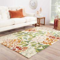 Jaipur Colours Veranda 5-Foot x 7-Foot 6-Inch Indoor/Outdoor Area Rug in Leaf Green