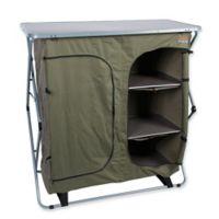 Bushtec Adventure Sierra 4-Shelf Double Camp Cupboard