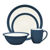 Noritake® Colorwave Curve 4-Piece Place Setting in Blue