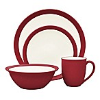 Noritake® Colorwave Curve 4-Piece Place Setting in Raspberry
