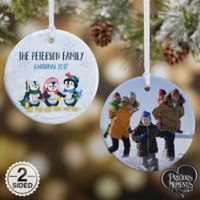 Precious Moments® Penguin 2-Sided Glossy Photo Christmas Ornament