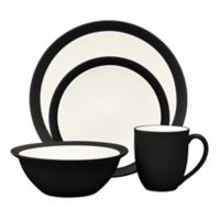 Noritake® Colorwave Curve 4-Piece Place Setting in Graphite