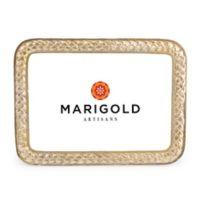 Marigold Artisans Braid 5-Inch x 7-Inch Picture Frame
