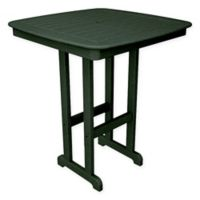 POLYWOOD® Nautical 37-Inch Bar Table in Green