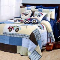 Levtex Home Carter Full/Queen Quilt Set in Blue