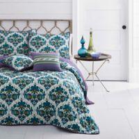 Azalea Skye® Luna Reversible Full/Queen Quilt Set in Blue