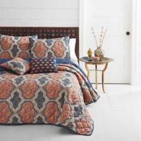 Azalea Skye® Rhea Reversible Full/Queen Quilt in Orange