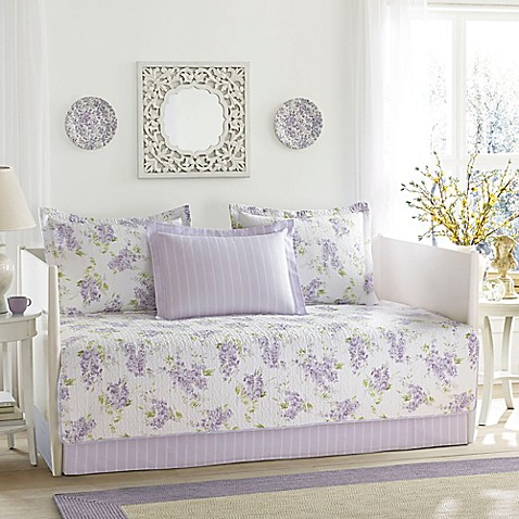 Laura ashley keighley daybed set in purple bed bath for Furniture keighley