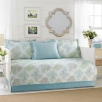 Laura Ashley® Saltwater Daybed Set in Blue