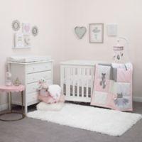 Nojo® Ballerina Bows 4-Piece Crib Bedding Set